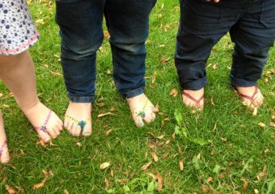 gras voet verven kinderopvang more for kids nijverdal jojanneke kogelman